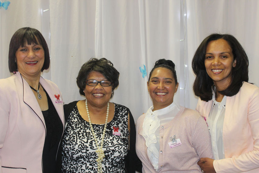 Speakers at Bethany Fellowship Full Gospel Curch of God in Southern Africa's Throne of Grace Women's Conference.